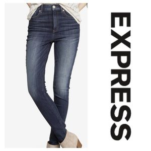 Ankle jeans leggings by Express. Size 4